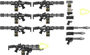 IL-1356 Custom Gatling Gun by NeoMetalSonic360