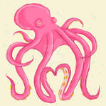 Octopus Heart by glitterkunt