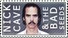 Nick Cave + Bad Seeds stamp by glitterkunt