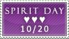 Spirit Day stamp by glitterkunt
