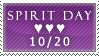 Spirit Day stamp by glitterkunt