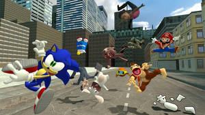 Derpy Sonic 2 by JJsonicblast86