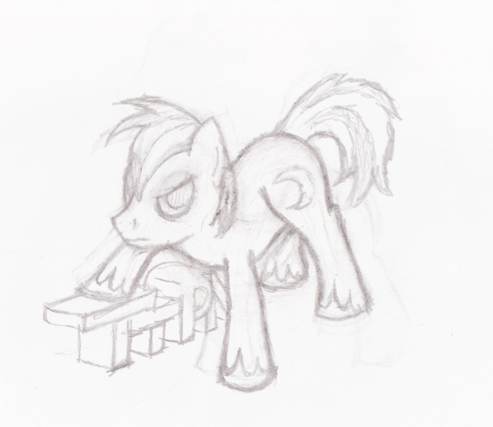 My OC: [TTPN] Shadow Moon (Sketch version) by greyamoon
