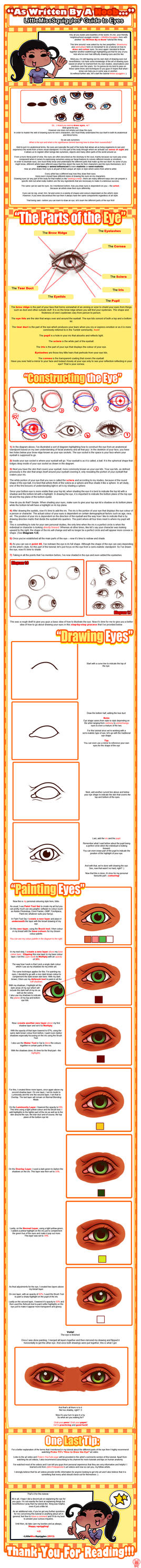 As Written By a Noob~ LMS' Guide To Eyes by LittleMissSquiggles