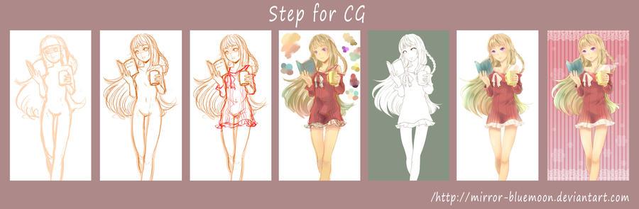 Original - Step for Kagami2014 by mirror-bluemoon