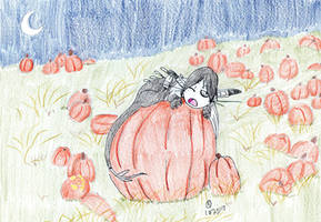 In The Pumpkin Patch.:Gift:. by Toboe-chan92