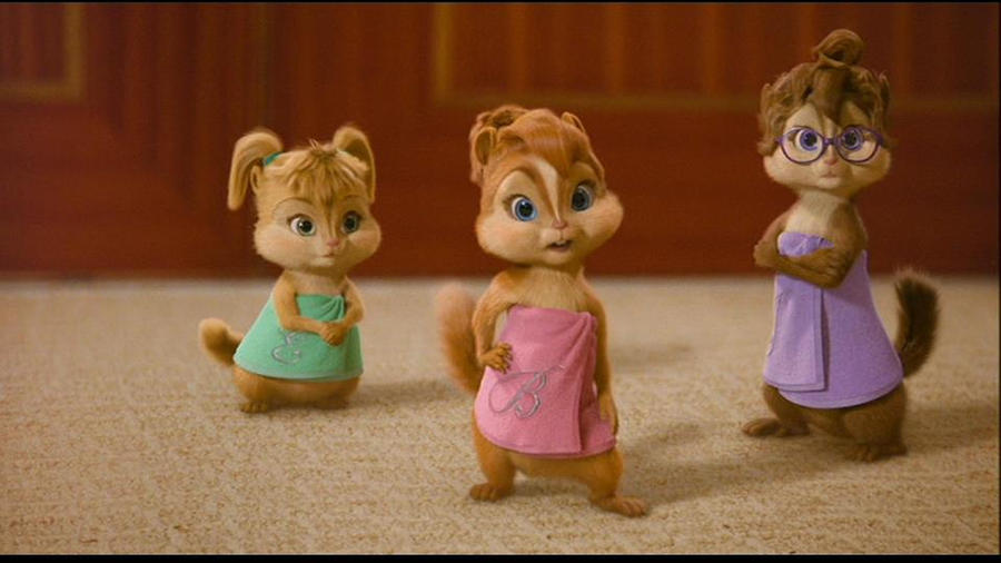 The chipettes by Trixieluz on DeviantArt
