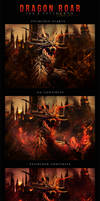 Dragon Roar. Collaboration by IsaVII