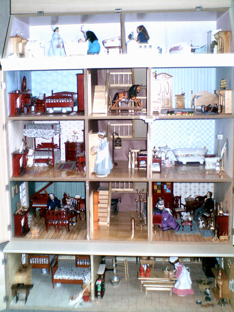 Dolls House Interior By ThornyEnglishRose On DeviantArt