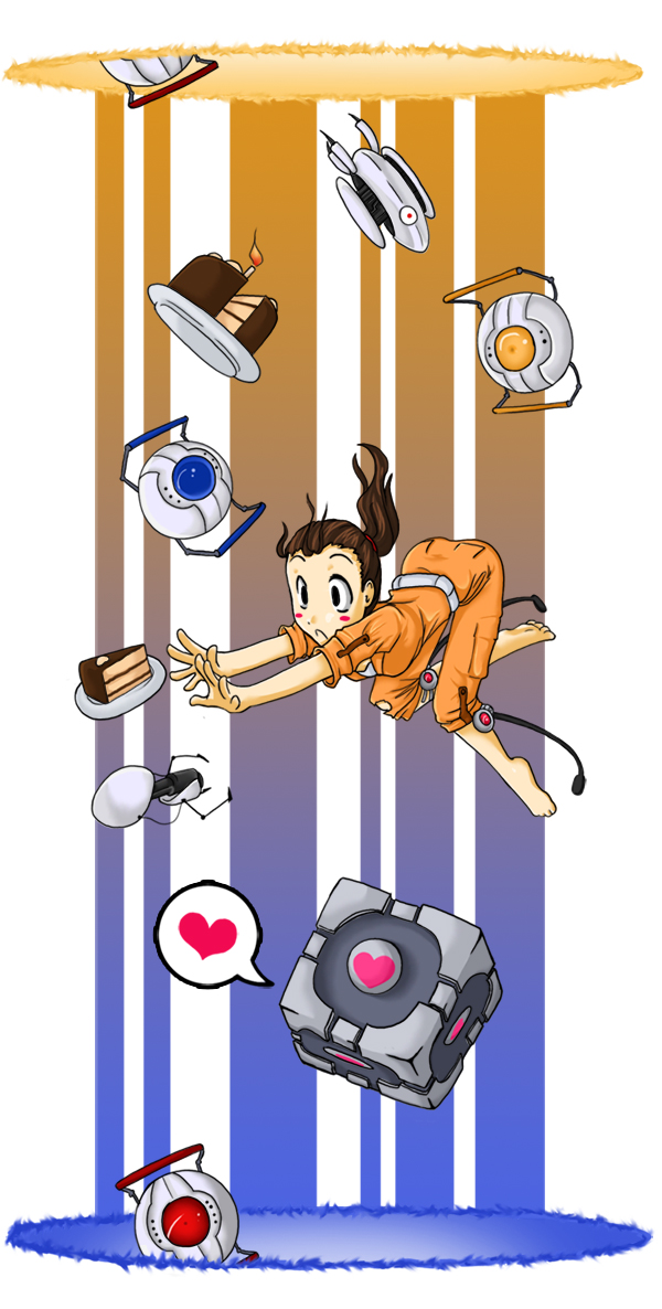 Portal: CAKE by Muu-cow
