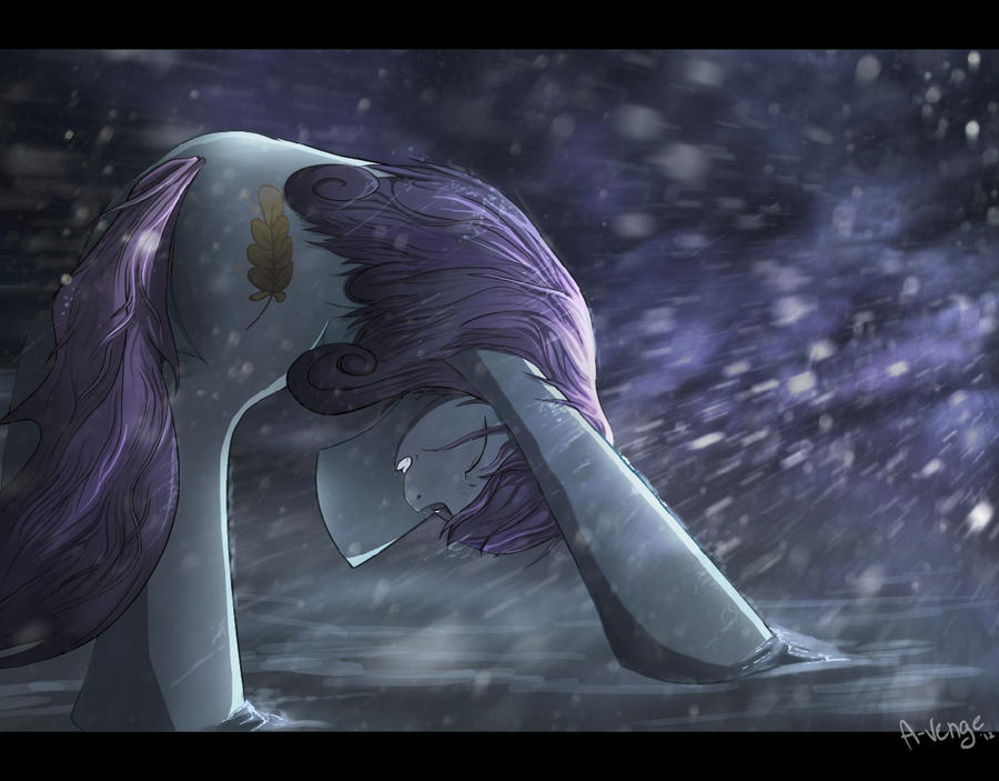 The Crystal winter by A-Venge