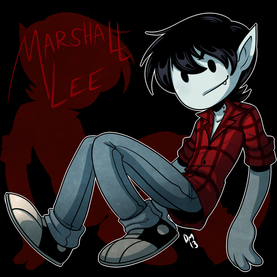 Adventure Time - Marshall Lee by deeum