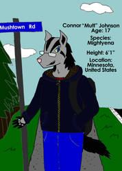 Mutt the Mightyena by SomemuttupNorth