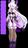 (MMD) Tda Cyber Kitty Haku Download {v1.1}