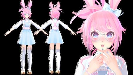 [MMD DL] Tda Cinnabunn Bunny