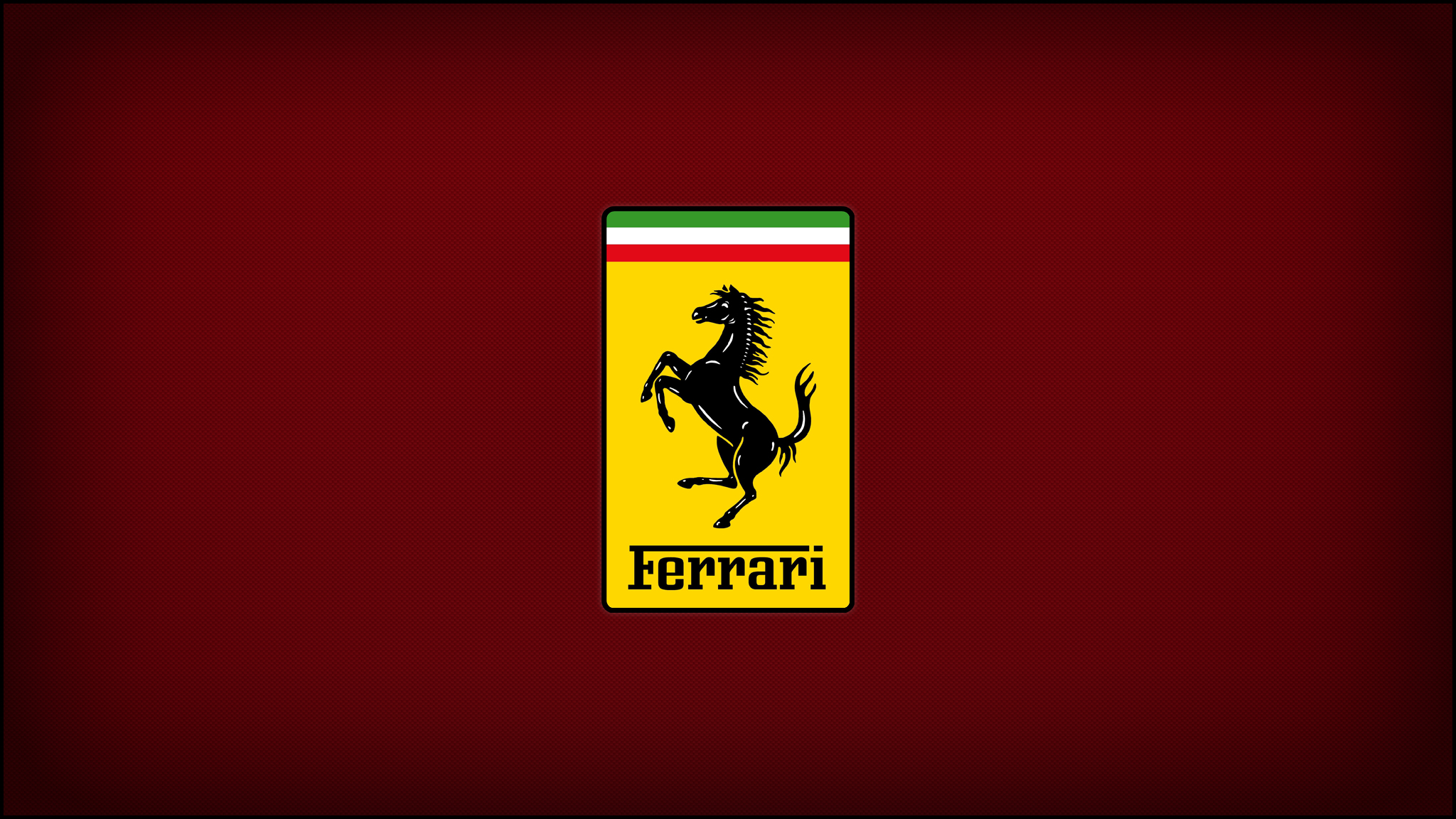 Ferrari Logo Red by ZIXTY on DeviantArt: zixty.deviantart.com/art/Ferrari-Logo-Red-163243068