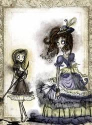 Cosette and the Innkeeper's Wife by Mrs-Lovett-da-Pirate
