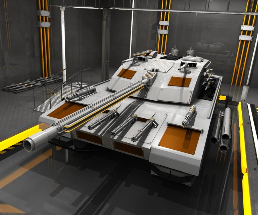 CX-439 UE Tank Concept by Nitronic755