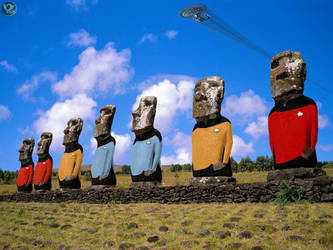 Moai Trek by farstar09