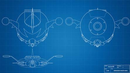 Grendizer blueprint