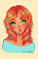 Red Head by so-squiggly