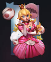 Peachy 3D by polydrawer
