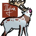 Raindeer Tag for Ilyian:FP by Jiel