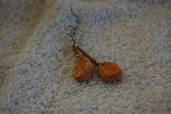 Chicken Nugget Earings by Jiel