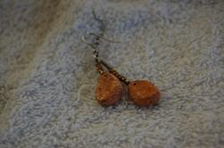 Chicken Nugget Earings by Jiel