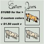 Custom FOX Icons PRICE change see descr. by Jiel