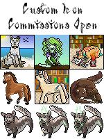 Custom Icon Commissions OPEN by Jiel