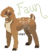 Faun - Lineless 100x100 pixel example by Jiel