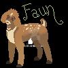 Faun - Lineless 100x100 pixel example by Jiel