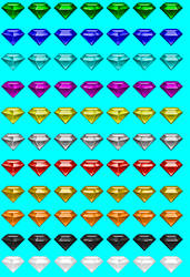 Chaos Emeralds Remake by Quagmirefan1