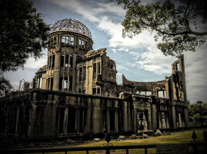 DOMO BOMBA ATOMICA - Hiroshima, Japon