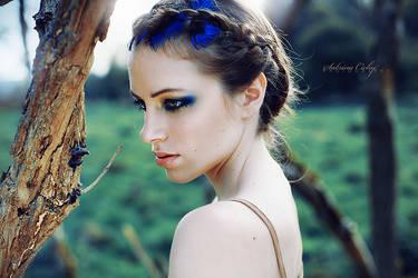 peacock blue by SabrinaCichy