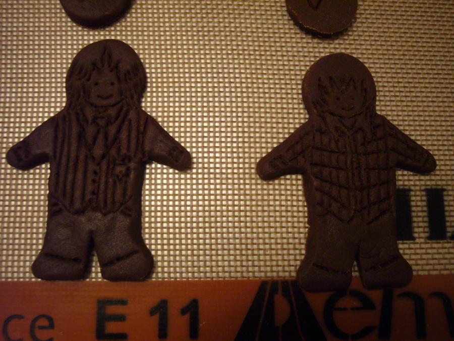 IAMP: QC+SK Gingerbread Men 1 by NinjaGrifon