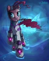 Pinkie Pie Supermare by JedaySkayVoker