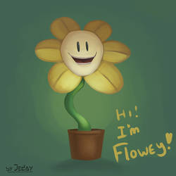 Hi! I`m Flowey! by JedaySkayVoker