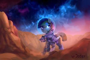 Stellar Stranger by JedaySkayVoker