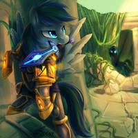 Warcraft comission by JedaySkayVoker