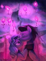 The Glowing of Love [Commission] by JedaySkayVoker
