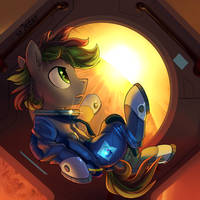 YCH space pony [completed] by JedaySkayVoker