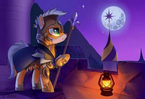 YCH night guardian [Completed] by JedaySkayVoker