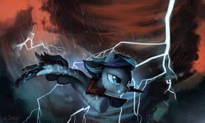 The storm [commission] by JedaySkayVoker