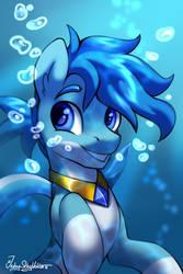Aqua Sapphire