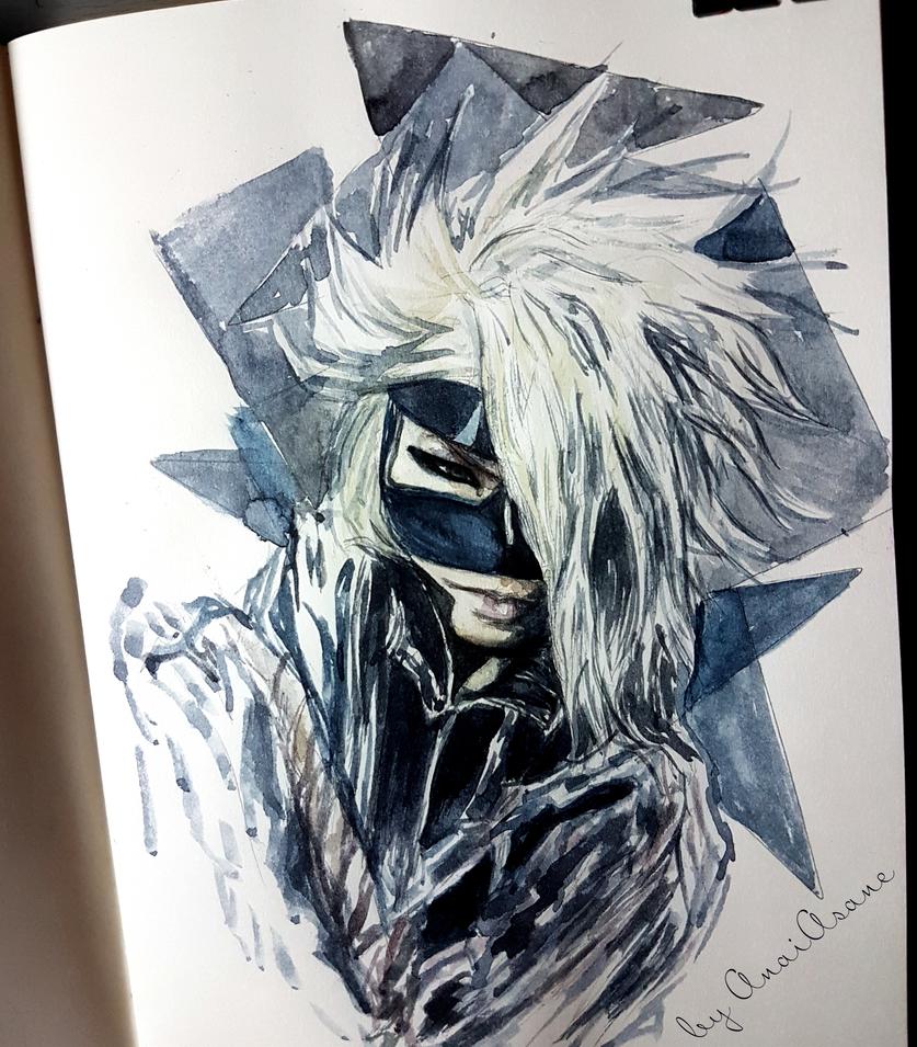 Reita (Dogma) watercolor  by AnaiAsane