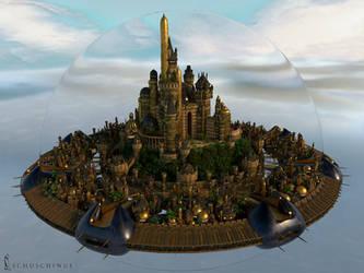 Golden Castle Update by Schuschinus