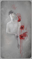 Blood Red Poppies by Sash-kash
