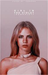 WATTPAD COVER: girl in the violet by hiwendigo